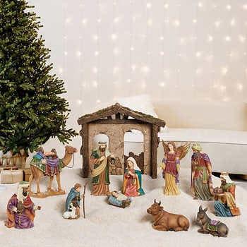 Kirkland Signature Nativity Set, 13-Piece