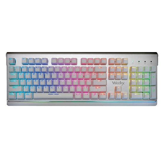 Velocilinx Boudica RGB Gaming Keyboard - Silver