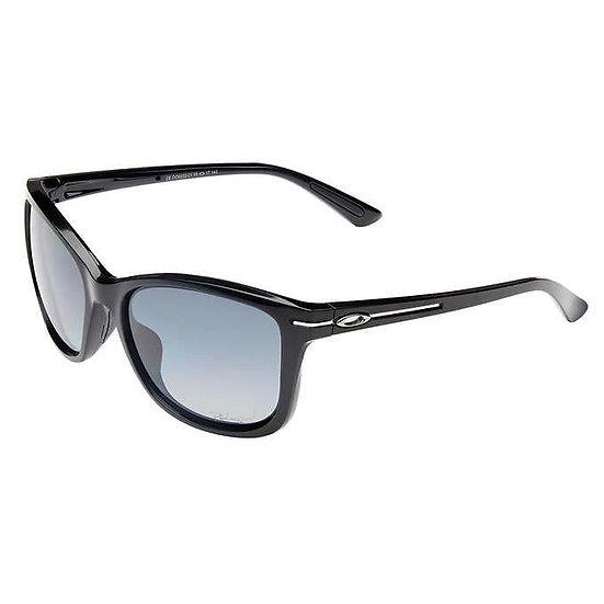 Oakley Drop In Polished Black Polarized Sunglasses, Women's