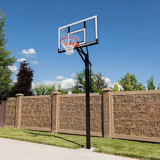 """Lifetime 54"""" In-Ground Basketball Hoop System"""