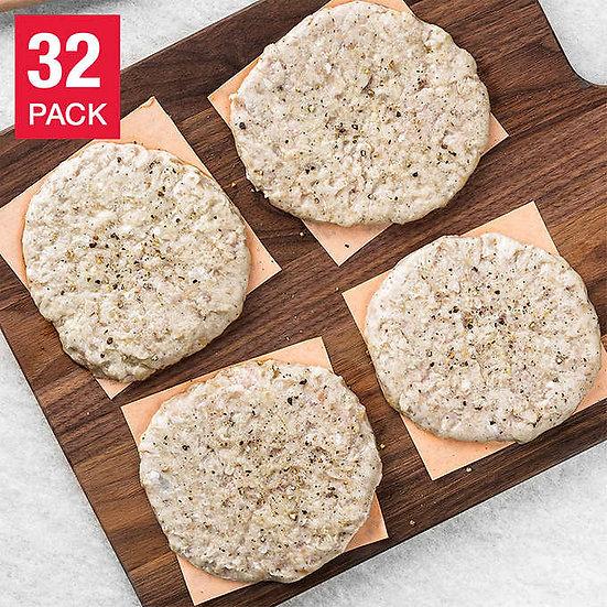 Rastelli's Antibiotic-Free Turkey Craft Burgers 5 oz, 32-pack, 10 lbs
