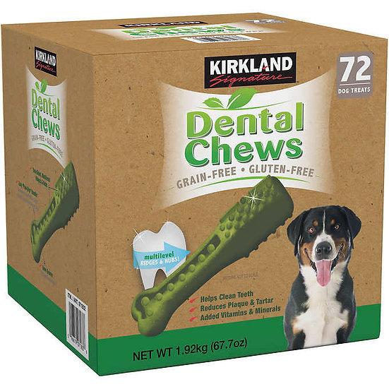 Kirkland Signature Dental Chews, 72-count
