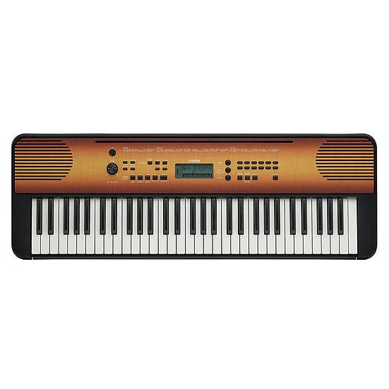 Yamaha E360 61 Key Portable Keyboard Bundle
