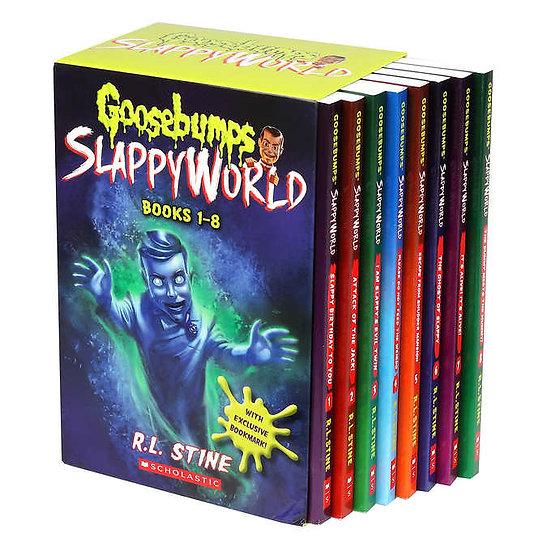 Goosebumps Slappy World: 8 Book Box Set