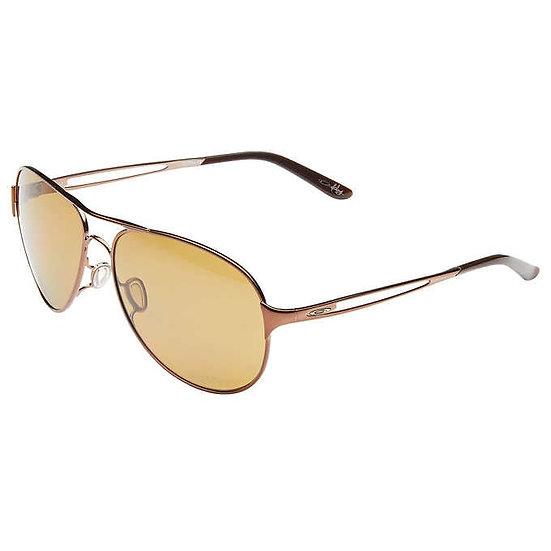 Oakley Caveat Brunette Polarized Sunglasses, Women's