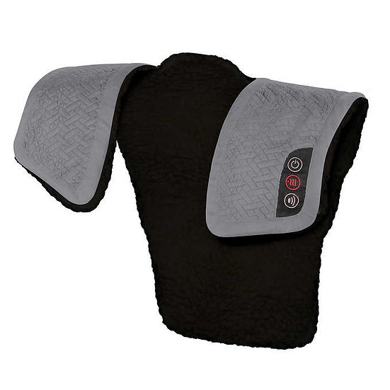 Homedics Weighted Comfort Wrap with Vibration and Soothing Heat