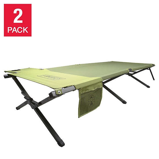 Coleman Trailhead Easy Step Cot, 2-pack