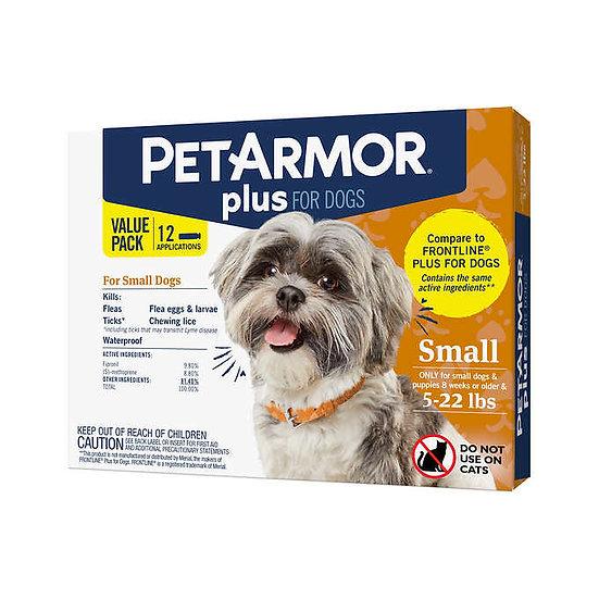 PetArmor Plus Flea, Tick and Lice Formula for Dogs 5-22 lbs.