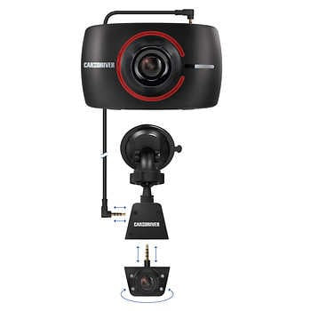Car & Driver Road Patrol 1080p Touch Duo Dash Camera
