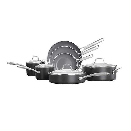 Calphalon Classic Oil-Infused Ceramic 11-Piece Cookware Set