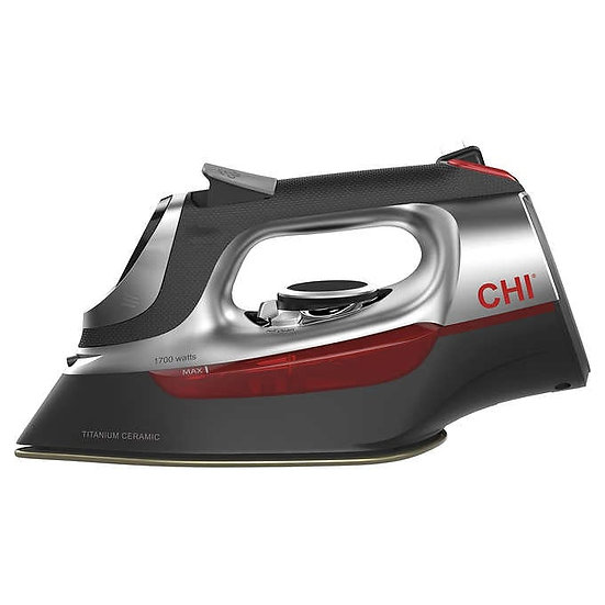 CHI Electronic Clothing Iron with Retractable Cord