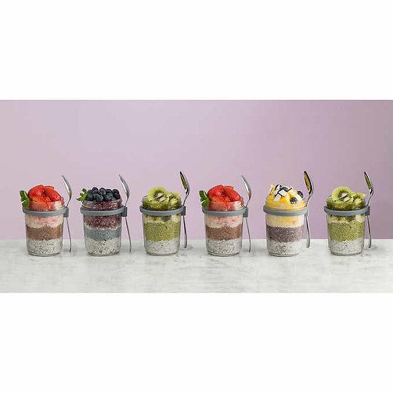 Kilner 6-pack Breakfast Jar Set
