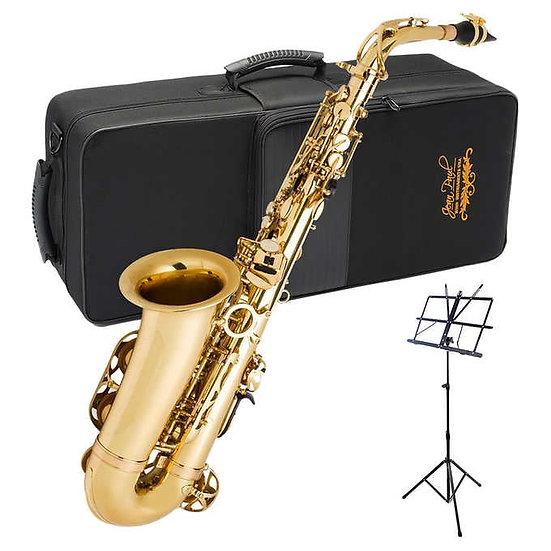 Jean Paul Alto Saxophone Bundle with Carrying Case - AS-600CM