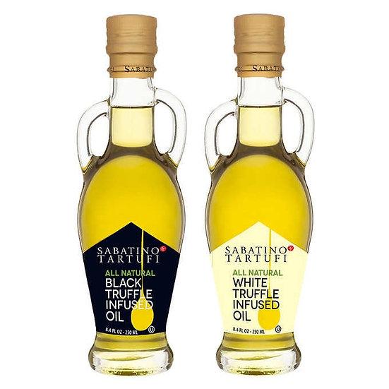 Sabatino Tartufi Black and White Truffle oil Combo Pack 2 X 8.4 oz. Bottle's