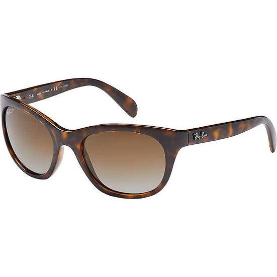 Ray-Ban RB4216 Light Havana Polarized Sunglasses, Women's