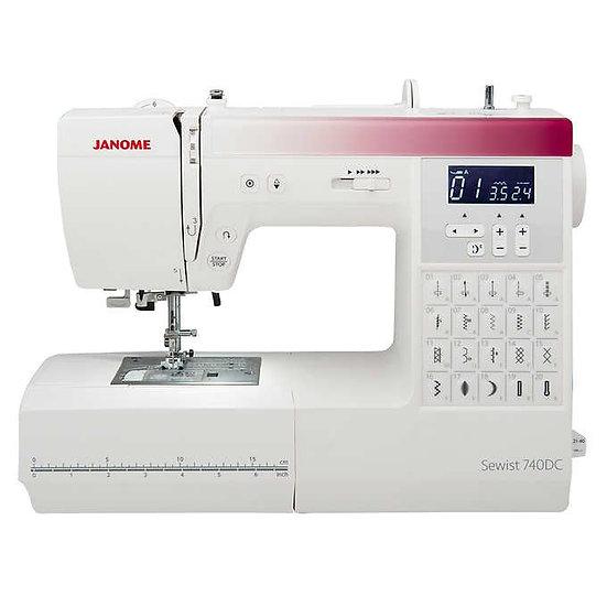 Janome Sewist 740DC Computerized Sewing Machine