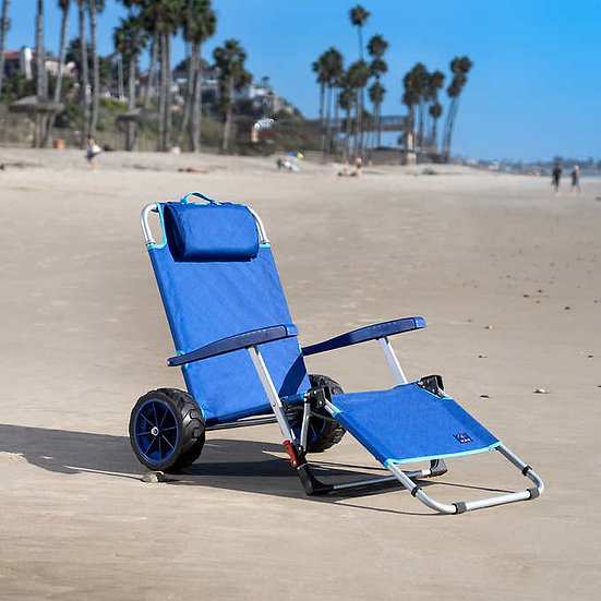 Mac Sports Beach Day Lounger Combo Cart