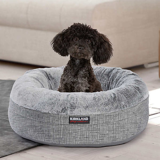 "Kirkland Signature 24"" Nest Dog Bed Gray"