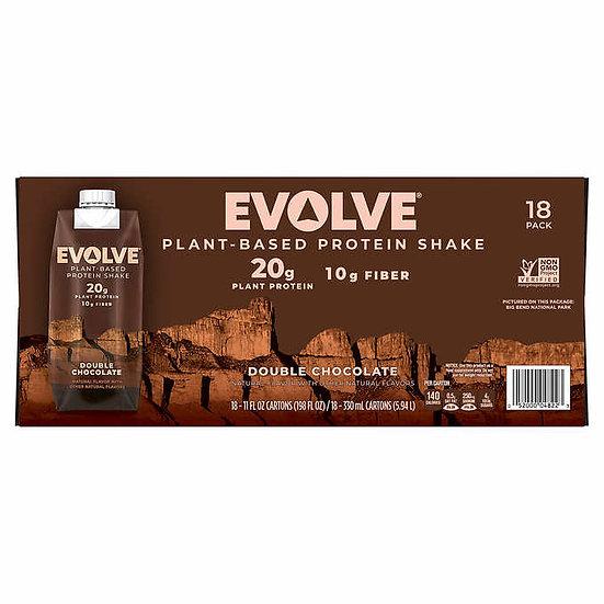 EVOLVE Plant-Based Protein Shake, 11.0 oz, 18-pack