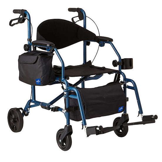 Excel Translator Rolling Walker/Wheelchair by Medline