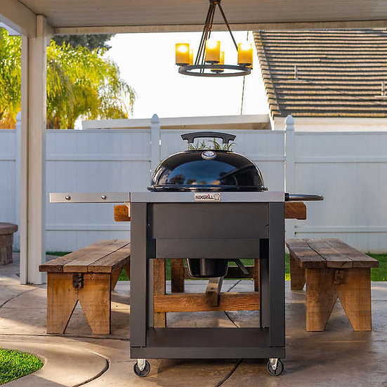 Nexgrill Charcoal Kettle Grill with Cart