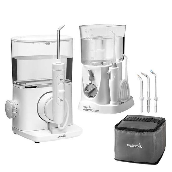 Waterpik Evolution and Nano Water Flosser Combo Pack
