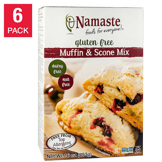 Namaste Foods Gluten Free Muffin & Scone Mix 16 oz 6-pack