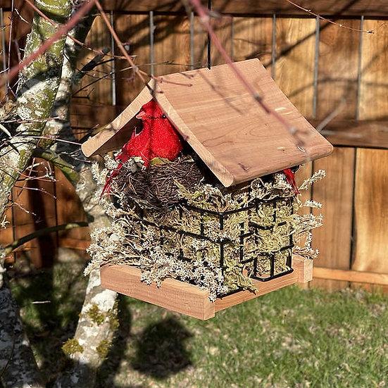 Birdhouse Hanging Suet Feeder