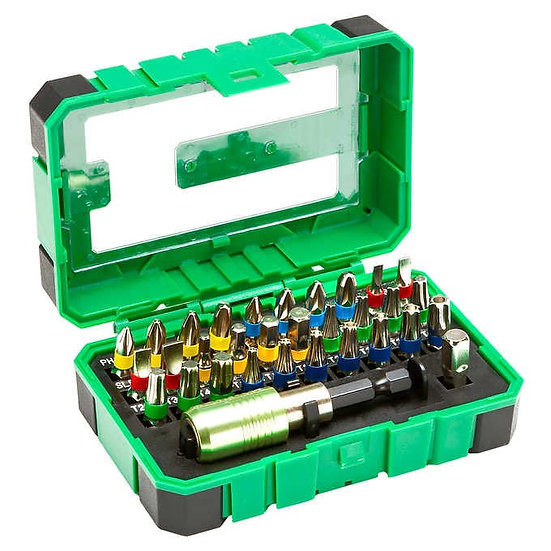 Steel Vision 31-piece Screwdriver and Security Bit Set