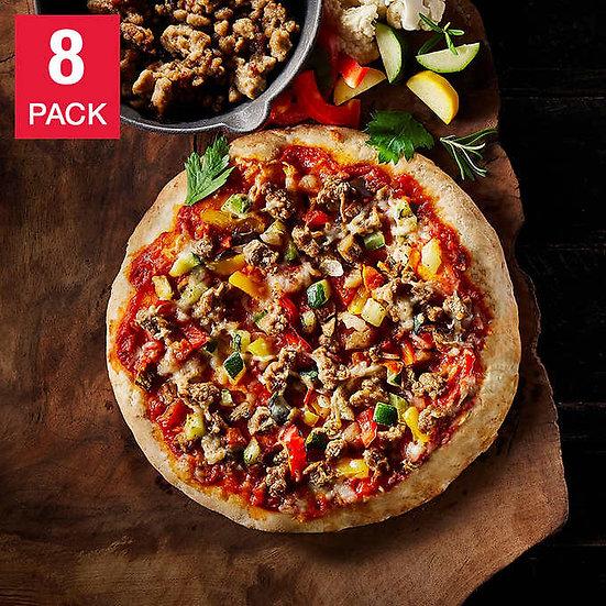 "Oggi Americana Beyond Meat Beef Substitute with Cauliflower Crust 8 x 9.5"" Pizza"