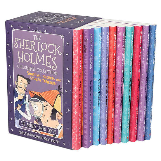 Sherlock Holmes Children's Collection: 10 Book Box Set