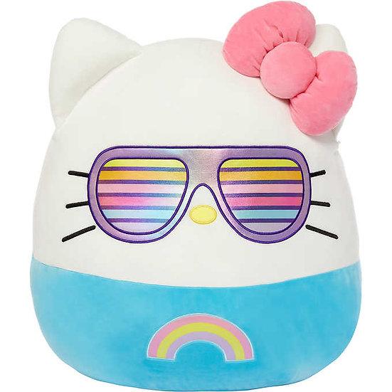 """Squishmallows 20"""" Hello Kitty Sunglasses"""