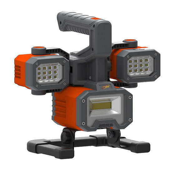 Rechargeable LED Worklight & Spotlight