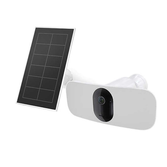 Arlo Pro 3 Floodlight Camera with Solar Panel