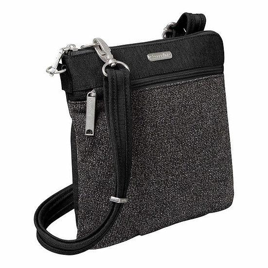 Baggallini Securtex Anti-Theft Slim Crossbody Bag