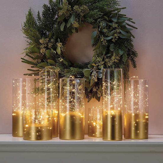 Philips Dual Color LED Micro Lights, 8-pack, Christmas