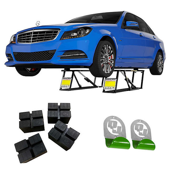 QuickJack 5,000lb. SLX Capacity Portable Car Lift Bundle BL-5000SLX