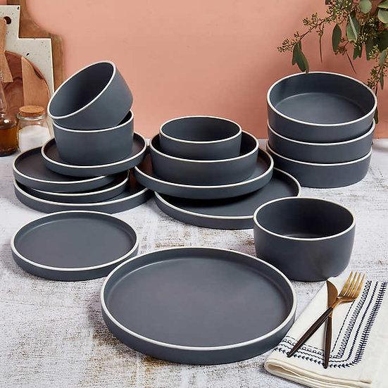 Tabletops Gallery 16-piece Lesley Dinnerware Set