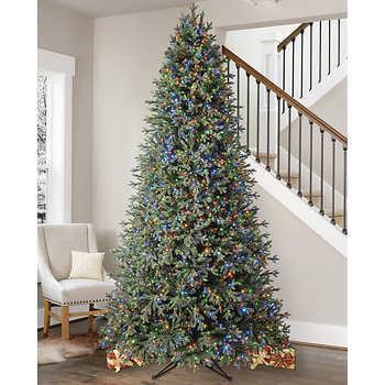 9' Pre-Lit Micro LED Artificial Christmas Tree