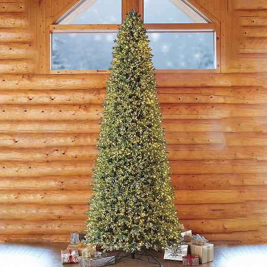 15' Pre-Lit Micro LED Artificial Christmas Tree
