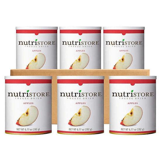 Nutristore Freeze Dried Fuji Apple Slice 6-count