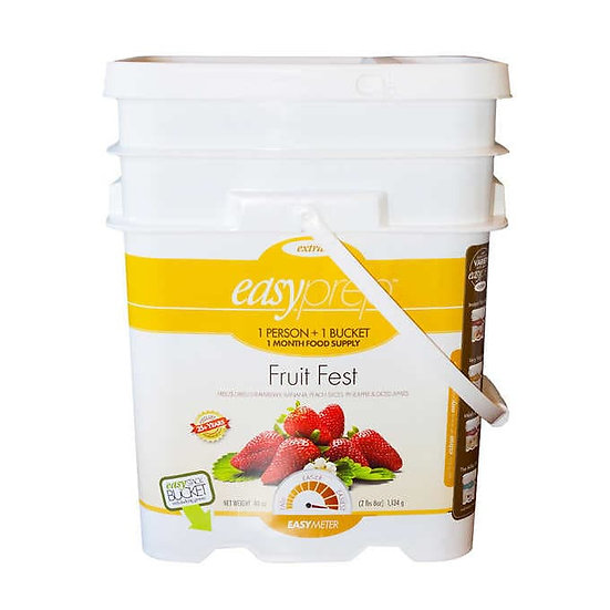 EasyPrep Freeze Dried Fruits Bucket