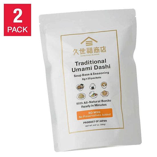 Traditional Umami Dashi Soup Base & Seasoning, 35-count, 2-pack