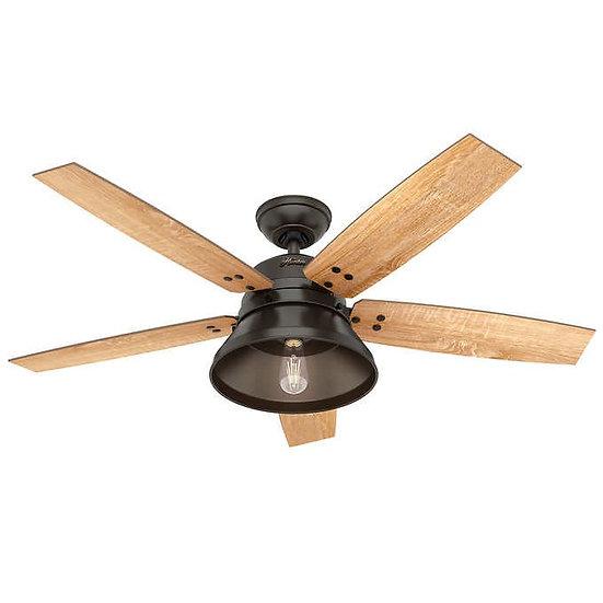 """Hunter Beech Hollow LED 52"""" Ceiling Fan"""