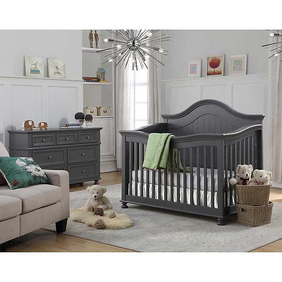 Caramia Kids Carlie 3-piece Nursery Furniture Set- Gray