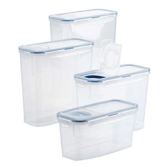 LocknLock 4-piece Easy Essentials Pantry Storage Set