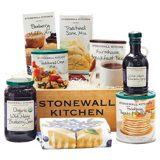 Stonewall Kitchen Ultimate Breakfast Gift Set