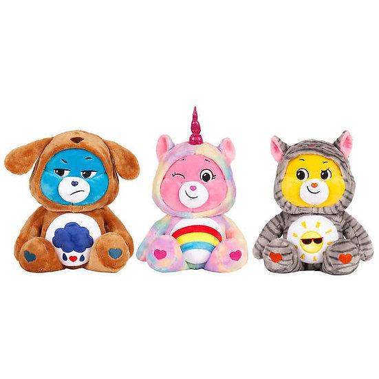 "Care Bear 12.5"" Snuggle Friends 3-pack Set, Grumpy, Cheer and Funshine"
