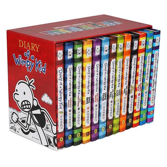 Wimpy Kid: 13 Book Box Set