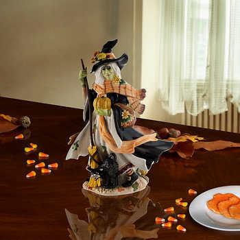 Fitz & Floyd Halloween Harvest Witch Figurine